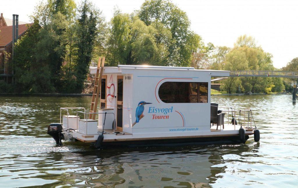Eisvogel Mini-Hausboot in Brandenburg mieten
