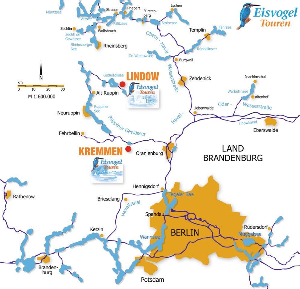 Hausbooturlaub im Revier Brandenburg